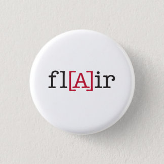 fl[A]ir 1 Inch Round Button