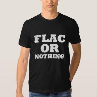 FLAC or Nothing Dark T-Shirt