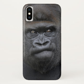 Flachlandgorilla, Gorilla gorilla, iPhone X Case