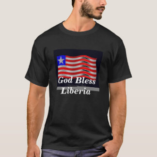 flag3, God Bless Liberia T-Shirt