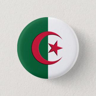 flag Algeria swipes in 1 Inch Round Button