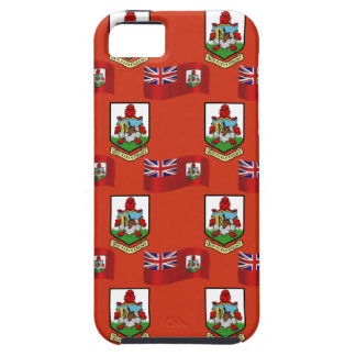 Flag and Crest of Bermuda iPhone 5 Covers
