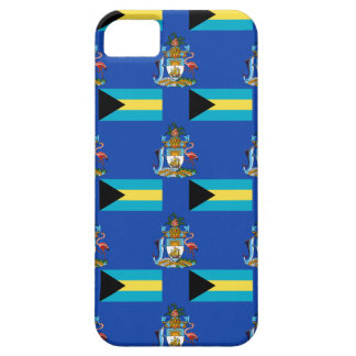 Flag and Crest of the Bahamas Case For The iPhone 5