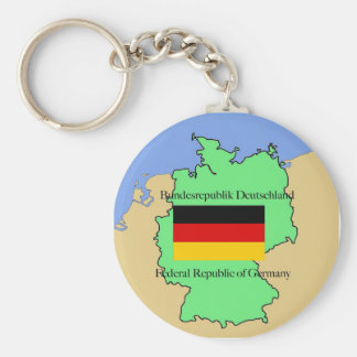 Flag and Map of Czech Republic Case-Mate Case Basic Round Button Keychain