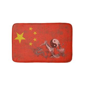 Flag and Symbols of China ID158 Bath Mat