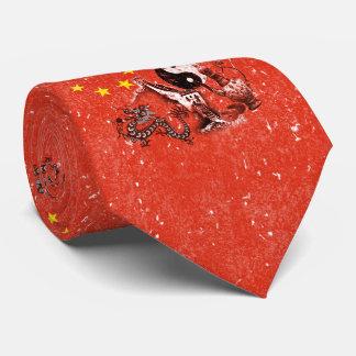 Flag and Symbols of China ID158 Tie