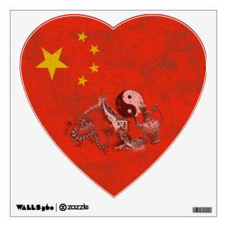 Flag and Symbols of China ID158 Wall Sticker