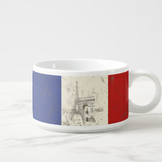 Flag and Symbols of France ID156 Bowl