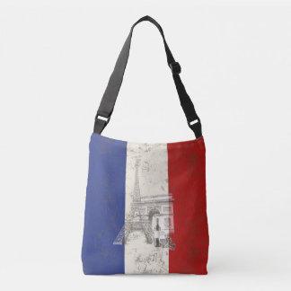 Flag and Symbols of France ID156 Crossbody Bag