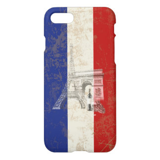 Flag and Symbols of France ID156 iPhone 8/7 Case