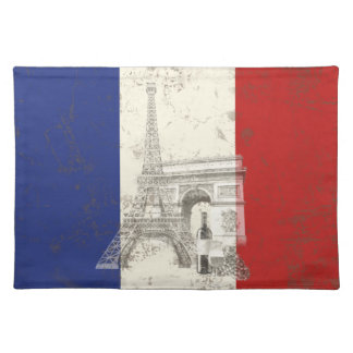 Flag and Symbols of France ID156 Placemat