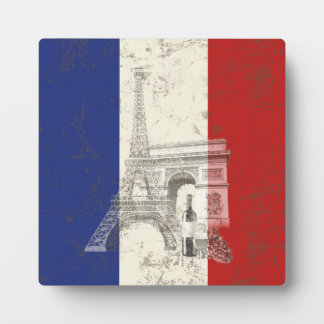 Flag and Symbols of France ID156 Plaque