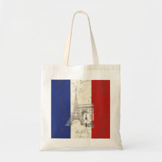 Flag and Symbols of France ID156 Tote Bag