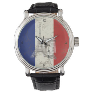 Flag and Symbols of France ID156 Watch