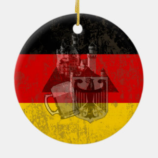 Flag and Symbols of Germany ID152 Ceramic Ornament