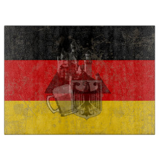 Flag and Symbols of Germany ID152 Cutting Board