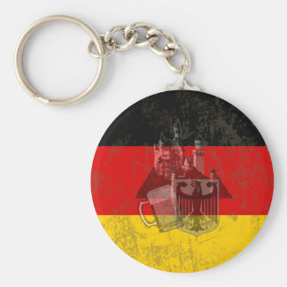 Flag and Symbols of Germany ID152 Keychain