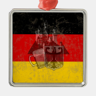 Flag and Symbols of Germany ID152 Metal Ornament