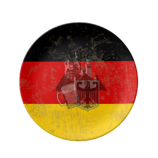 Flag and Symbols of Germany ID152 Plate