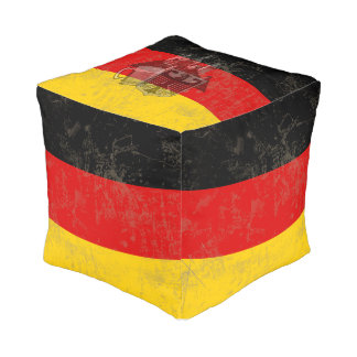 Flag and Symbols of Germany ID152 Pouf