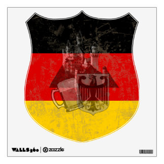 Flag and Symbols of Germany ID152 Wall Decal