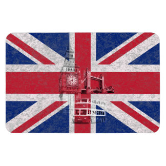 Flag and Symbols of Great Britain ID154 Magnet