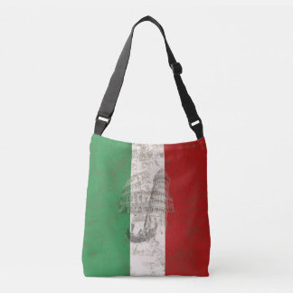 Flag and Symbols of Italy ID157 Crossbody Bag