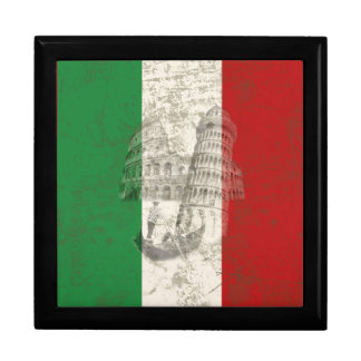 Flag and Symbols of Italy ID157 Gift Box