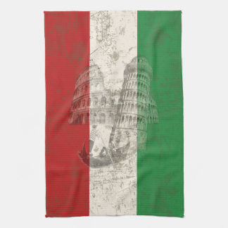 Flag and Symbols of Italy ID157 Kitchen Towel