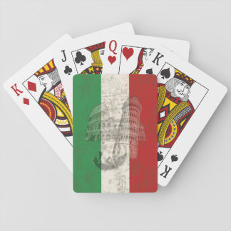 Flag and Symbols of Italy ID157 Playing Cards