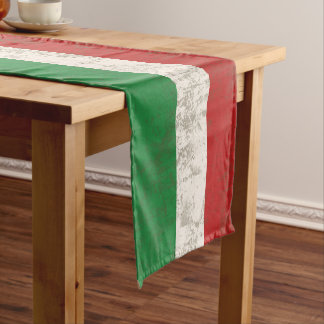 Flag and Symbols of Italy ID157 Short Table Runner