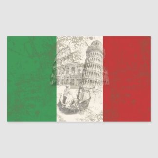 Flag and Symbols of Italy ID157 Sticker