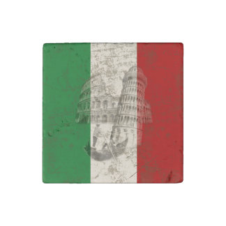 Flag and Symbols of Italy ID157 Stone Magnets