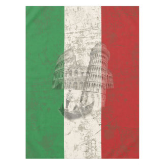 Flag and Symbols of Italy ID157 Tablecloth