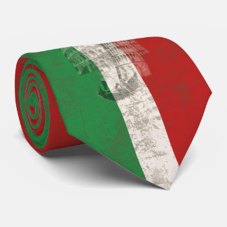 Flag and Symbols of Italy V2 ID157 Tie