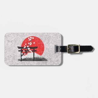 Flag and Symbols of Japan ID153 Bag Tag