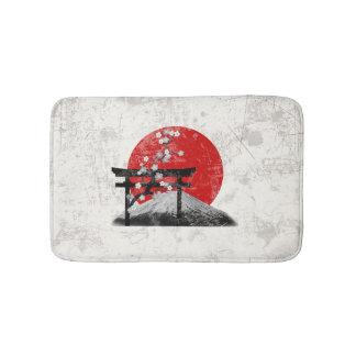 Flag and Symbols of Japan ID153 Bath Mat