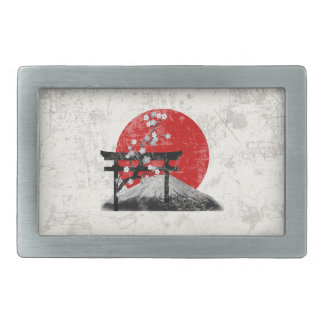 Flag and Symbols of Japan ID153 Belt Buckle
