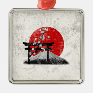 Flag and Symbols of Japan ID153 Metal Ornament