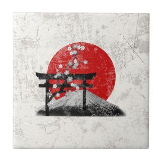 Flag and Symbols of Japan ID153 Tile