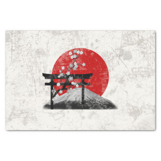 Flag and Symbols of Japan ID153 Tissue Paper
