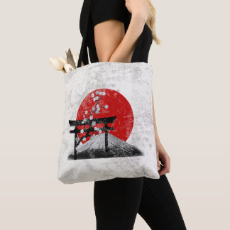 Flag and Symbols of Japan ID153 Tote Bag