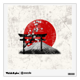 Flag and Symbols of Japan ID153 Wall Sticker