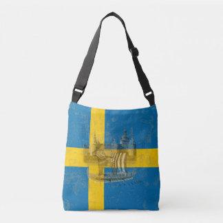 Flag and Symbols of Sweden ID159 Crossbody Bag
