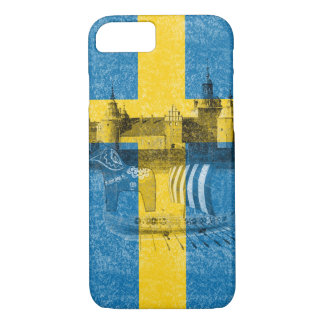 Flag and Symbols of Sweden ID159 iPhone 7 Case