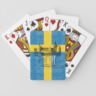 Flag and Symbols of Sweden ID159 Playing Cards