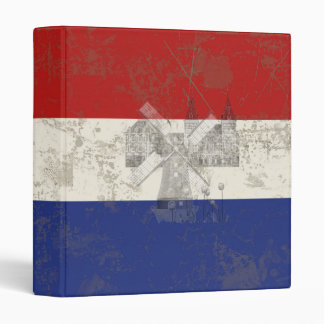 Flag and Symbols of the Netherlands ID151 Binder