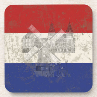 Flag and Symbols of the Netherlands ID151 Coaster