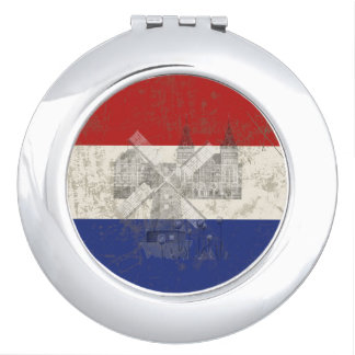 Flag and Symbols of the Netherlands ID151 Compact Mirror