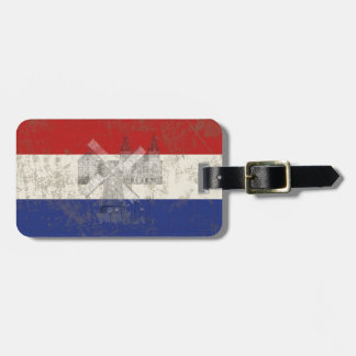 Flag and Symbols of the Netherlands ID151 Luggage Tag